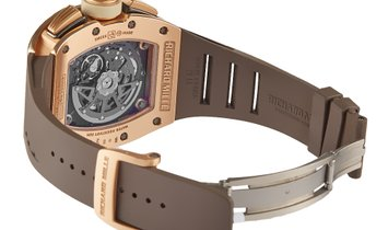 Richard Mille Felipe Massa Rose Gold Ivory Automatic Flyback Chronograph Watch RM011