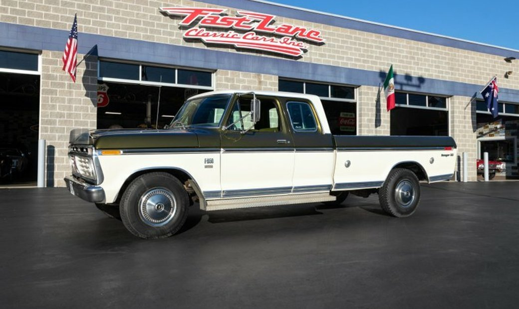 1975 Ford F250 Camper Special