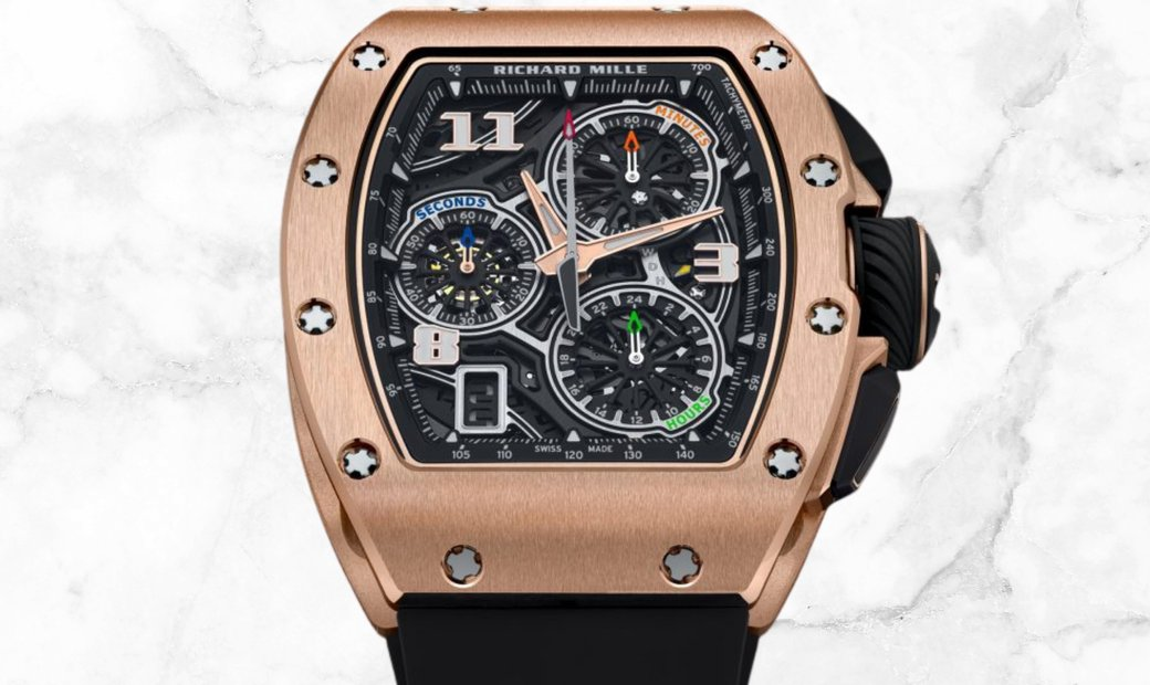 Richard Mille 72-01 Lifestyle In-House Chronograph Red Gold
