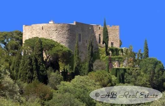 Chateau in Perpignan, Occitanie, France 1