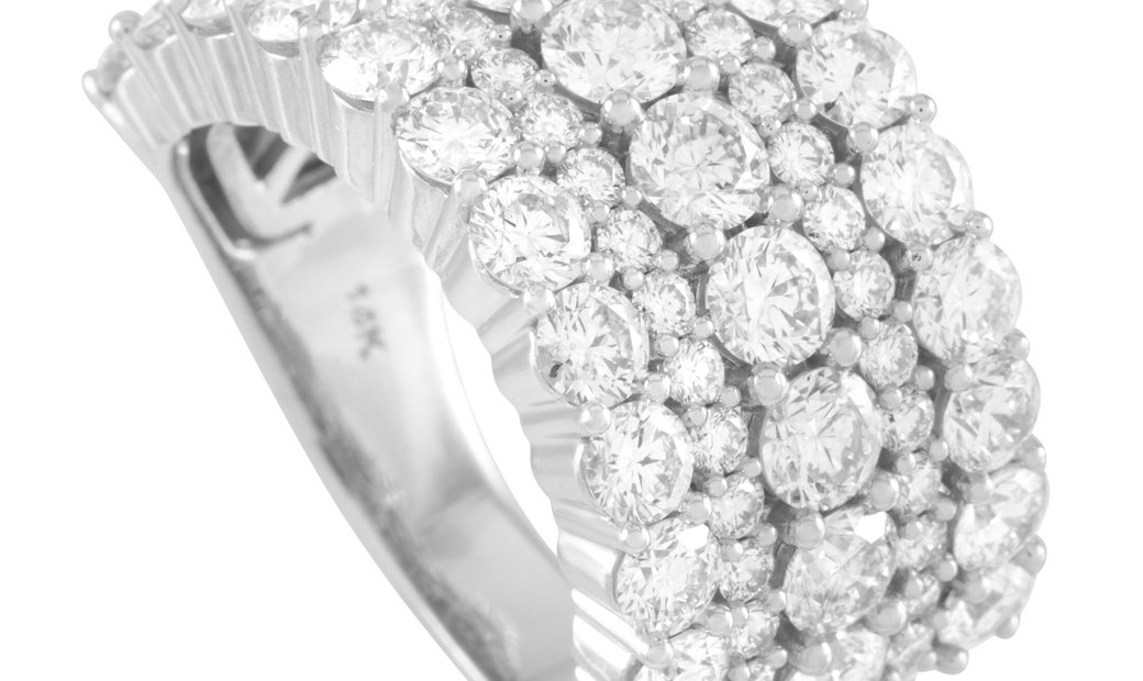 LB Exclusive LB Exclusive 14K White Gold 4.00 ct Diamond Ring