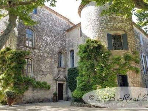 Chateau in Uzès, Occitanie, France 1