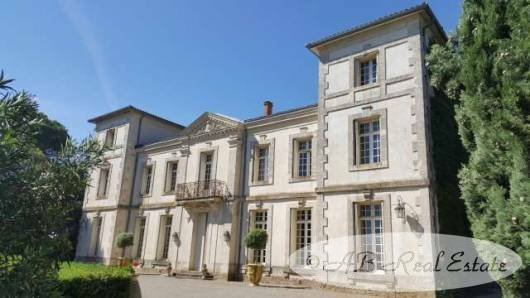 Chateau in Montpellier, Occitanie, France 1