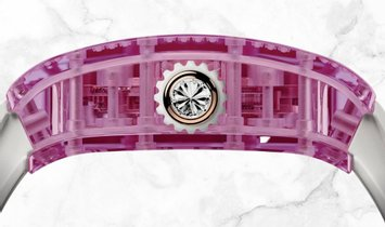 Richard Mille RM 07-02 Pink Lady Sapphire Red Gold Jasper and Diamond Centre