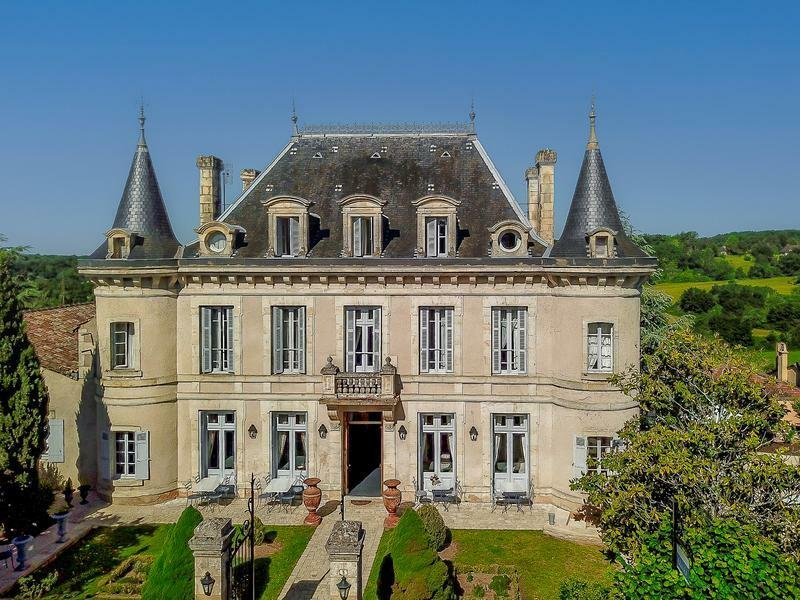 Chateau in Gaugeac, Nouvelle-Aquitaine, France 1
