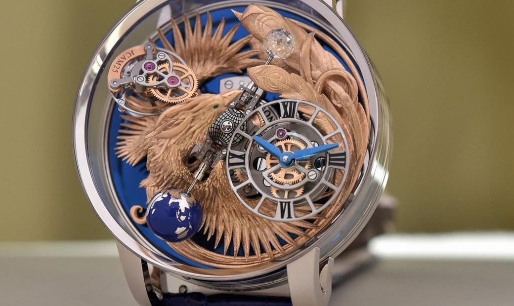 Jacob & Co. 捷克豹 [NEW MODEL] Astronomia Art Phoenix Tourbillon