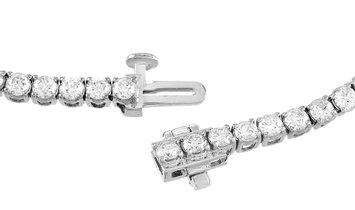 LB Exclusive LB Exclusive 14K White Gold 4.26 ct Diamond Tennis Bracelet
