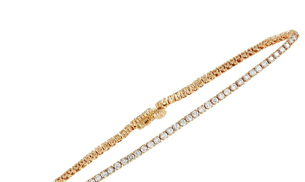 LB Exclusive LB Exclusive 14K Yellow Gold 1.73 ct Diamond Tennis Bracelet
