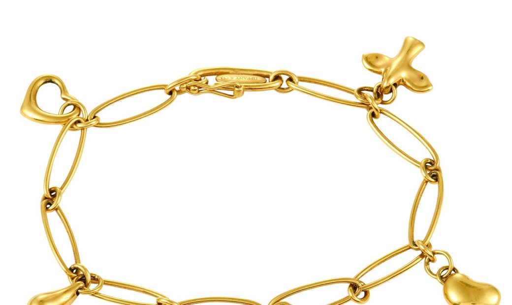 Tiffany & Co. Tiffany & Co. 18K Yellow Gold Charm Bracelet