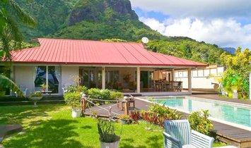 Дом в Моореа-Мэао, Иль дю Ван, Французская Полинезия 1