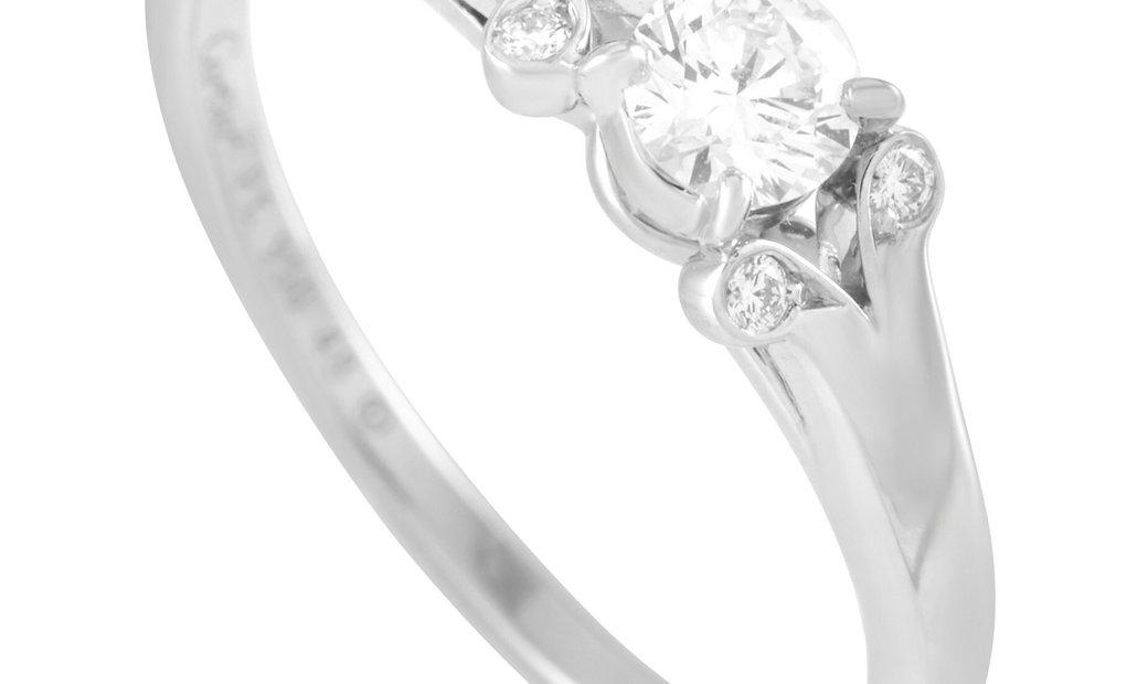 Cartier Cartier Platinum 0.24 ct Diamond Ring