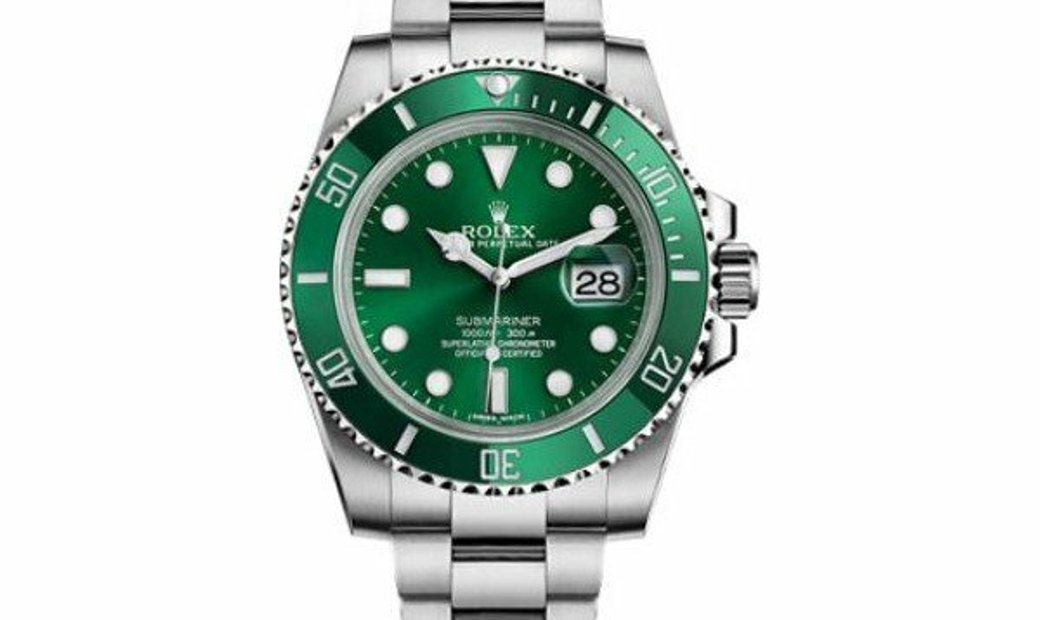 "ROLEX SUBMARINER DATE ""HULK"" GREEN 116610LV"