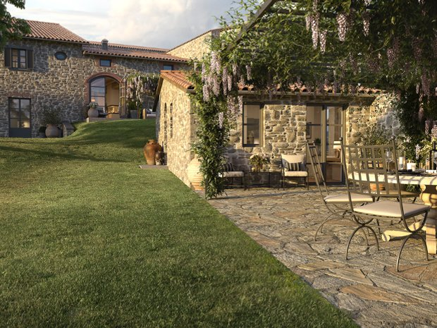 Villa in Gaiole in Chianti, Tuscany, Italy 1