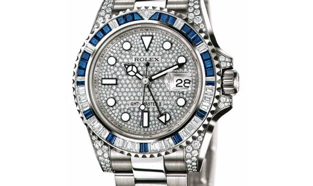 ROLEX OYSTER PERPETUAL GMT MASTER II 116759 SA