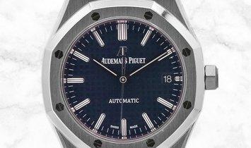 Audemars Piguet Royal Oak 15450ST.OO.1256ST.03 Stainless Steel Cobalt Blue Dial