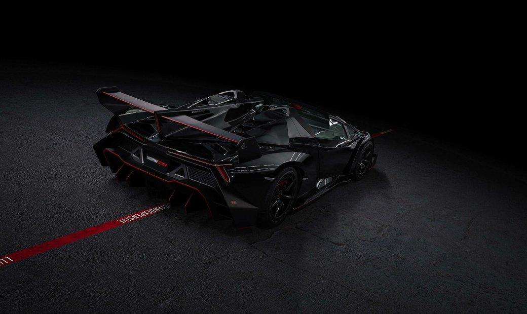 Lamborghini Veneno Roadster - delivery miles - 1 of 9