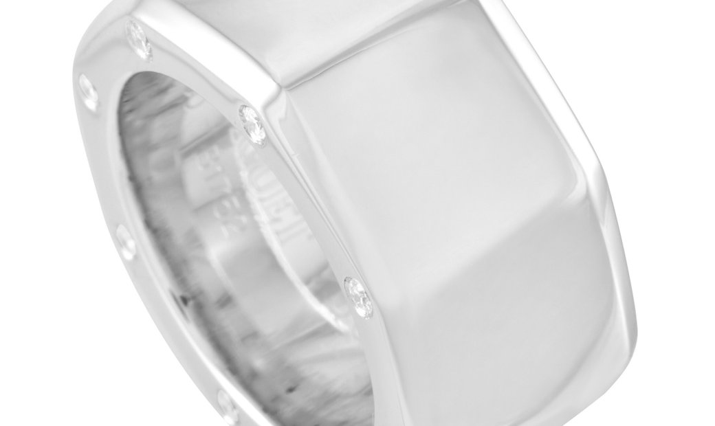 Audemars Piguet Audemars Piguet 18K White Gold Diamond Band Ring