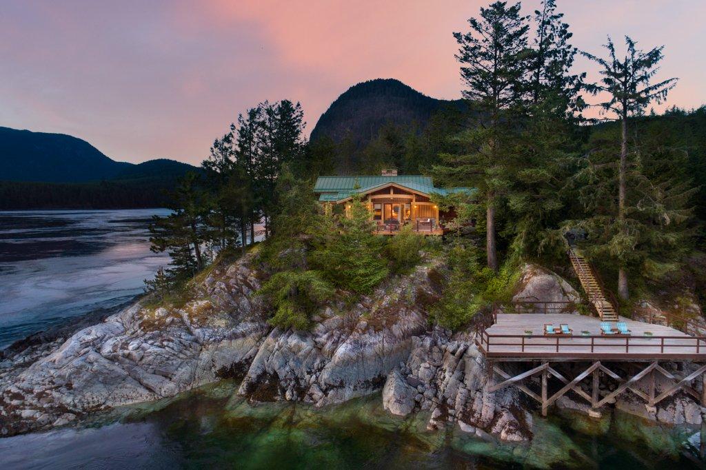 House in Stuart Island, British Columbia, Canada 1