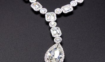 Diamond Necklace I Bid Now I AgentAuction.co I Open Bid $50,000