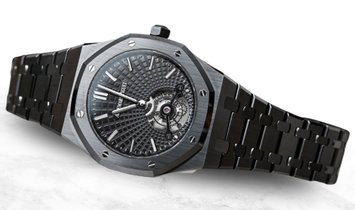 Audemars Piguet 26522CE.OO.1225CE.01 Royal Oak Tourbillon Extra-thin Limited Edition Black Ceramic