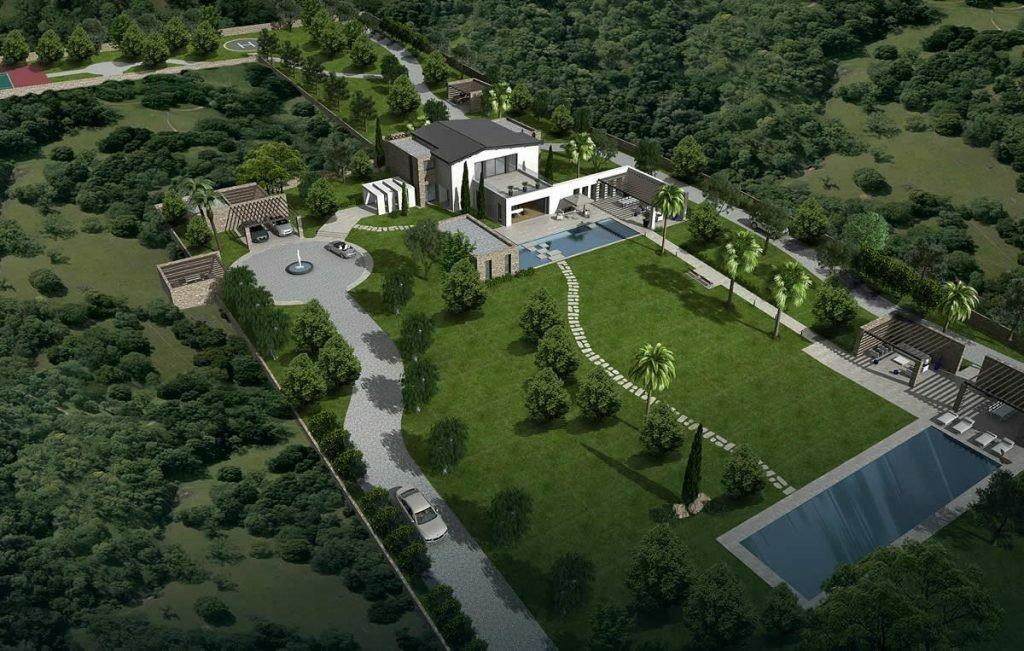 Villa in Saronida, Greece 1