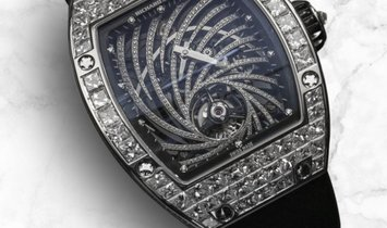 Richard Mille RM 51-02 Twister 18K White Gold Baguette-Cut Diamond Set