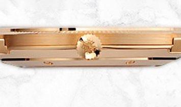 Patek Philippe Calatrava 5119R-001 Rose Gold White Dial Black Alligator Band