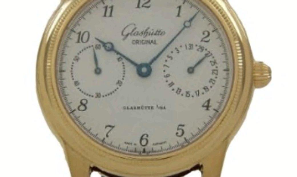 GLASHUTTE ORIGINAL 1845 CLASSIC POINTER DATE 39MM 49-02-04-02-04