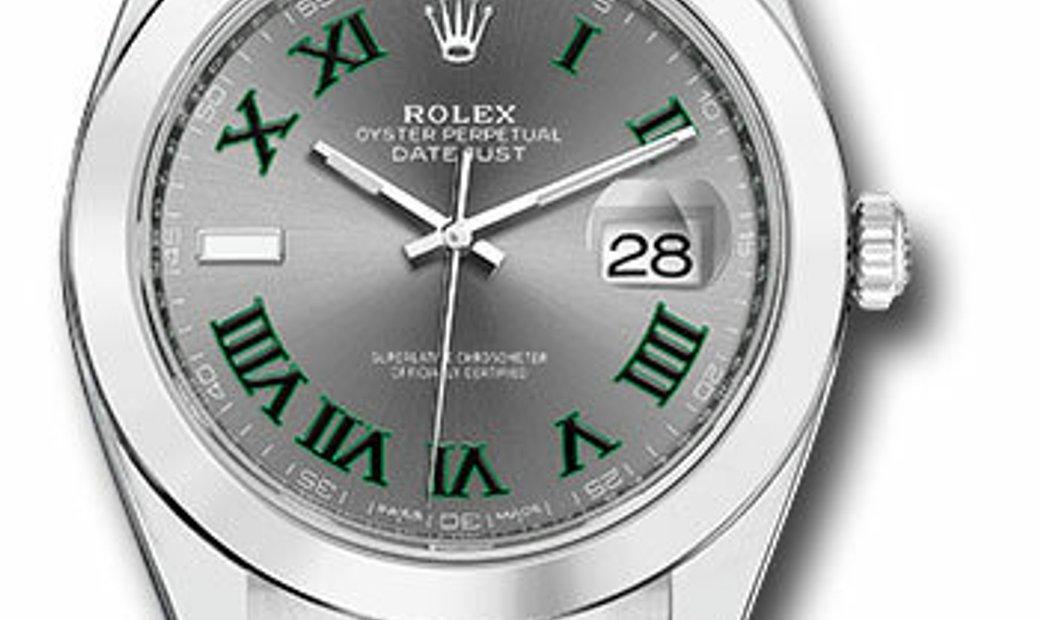 Rolex Datejust Stainless Steel 126300 SLGRO