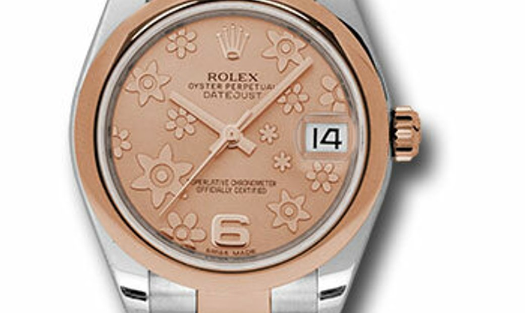 Rolex Steel and Everose Gold Datejust 178241 PCHFO