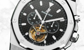 Audemars Piguet Royal Oak 25977ST.OO.1205ST.02 Chronograph Stainless Steel Black Dial