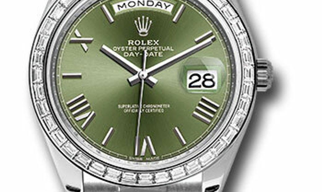 Rolex Platinum Day-Date 228396TBR OGRP