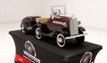 1935 Steelcraft Pontiac Pedal Car