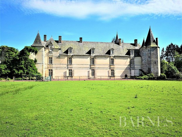 Castle in Rennes, Brittany, France 1