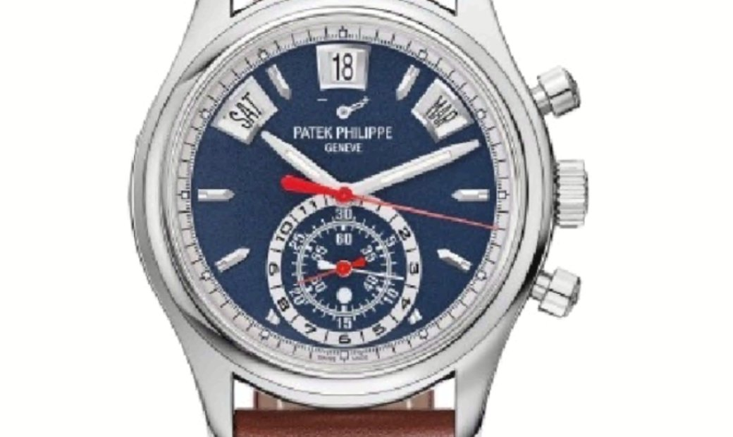 PATEK PHILIPPE COMPLICATIONS FLYBACK CHRONOGRAPH ANNUAL CALENDAR 5960/01G-001