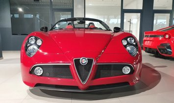2010 Alfa Romeo 8C Spider