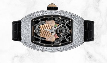 Richard Mille RM 71-01 Talisman White Gold Mother of Pearl and Diamond Set Dial