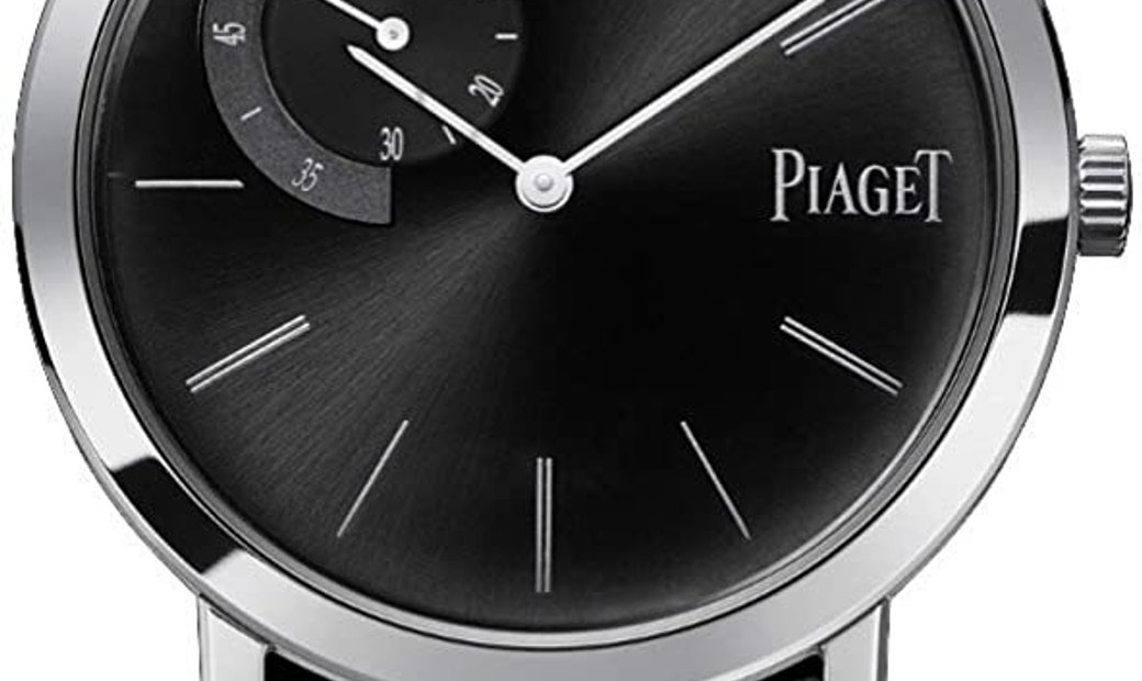 PIAGET ATIPLANO BLACK ALLIGATOR LEATHER G0A34114