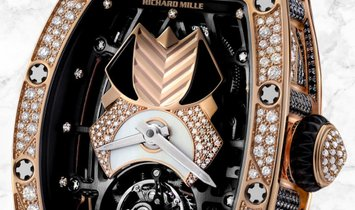 Richard Mille RM 71-01 Talisman Red Gold Diamond and Onyx Set Dial