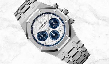 Audemars Piguet 26315ST.OO.1256ST.01 Royal Oak Chronograph Stainless Steel Silver Toned Dial