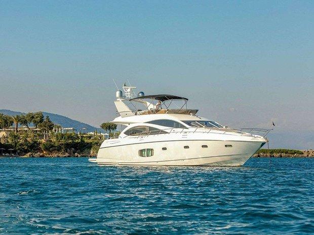 Motor Yacht in Corfu, Greece 1