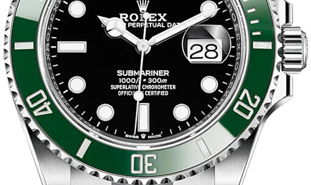 ROLEX OYSTER PERPETUAL SUBMARINER DATE KERMIT 126610LV-0002