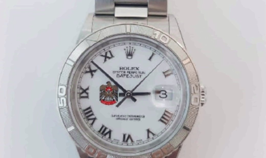 ROLEX DATEJUST TURN-O-GRAPH ROMAN NUMERAL DIAL UAE EDITION 16264