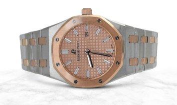 Audemars Piguet 67650SR.OO.1261SR.01 Royal Oak Quartz Stainless Steel Rose Gold Toned Dial
