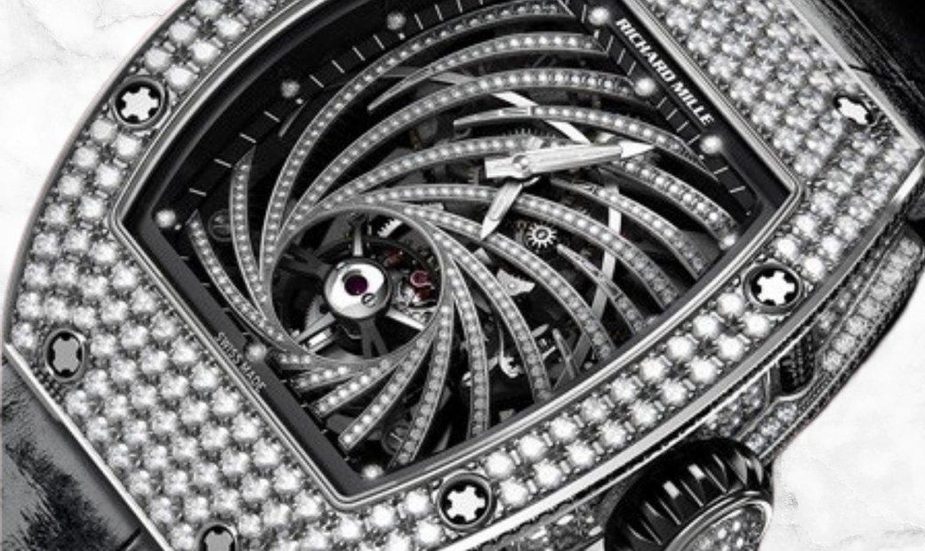 Richard Mille RM 51-02 Twister White Gold Diamond Set