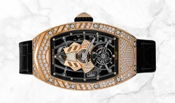 Richard Mille RM 71-01 Talisman Red Gold Mother Of Pearl Diamond Set