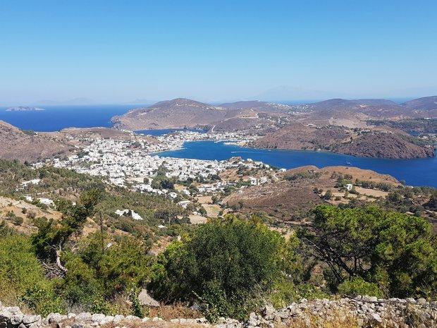 Land in Patmos, Greece 1