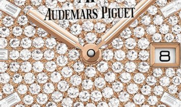 Audemars Piguet 67652OR.ZZ.1265OR.01 Royal Oak Quartz  Diamond Set 18K Rose Gold