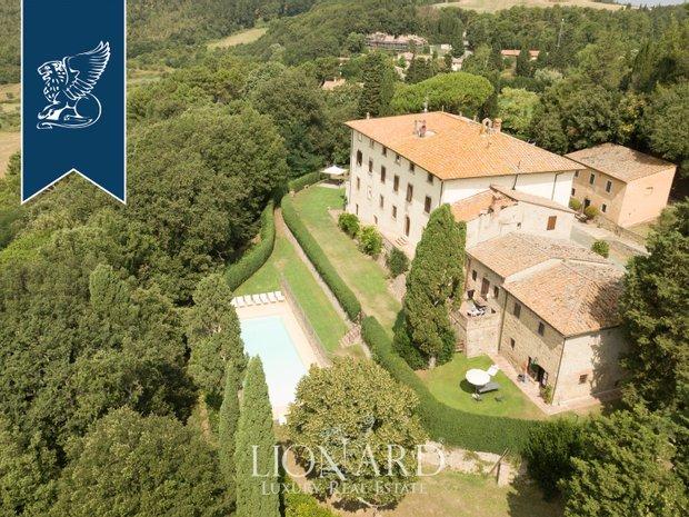 Villa in Castagno Val d'Elsa, Tuscany, Italy 1