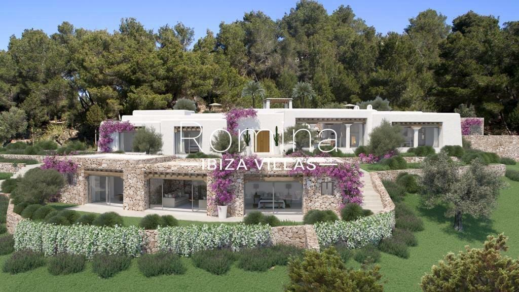 Villa in Sant Joan de Labritja, Balearic Islands, Spain 1